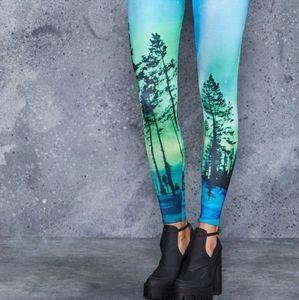 Blackmilk Aurora Skye Leggings